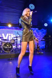 Pixie Lott Performs at Launch Party for Her New album