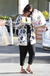 Rachel Bilson Street Style - Gets Some Food in Los Angeles, November 2014