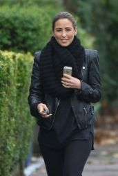 Rachel Stevens Street Style - Out in North London - November 2014
