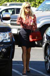 Reese Witherspoon Style - Out in Brentwood - November 2014