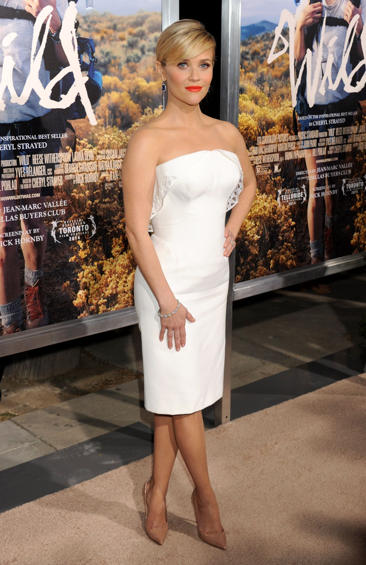 Reese Witherspoon Wild Premiere In Los Angeles