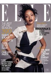 Rihanna - Elle Magazine December 2014 Issue