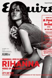 Rihanna - Esquire Magazine December 2014 Cover