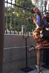 Rihanna Visits the White House - November 2014