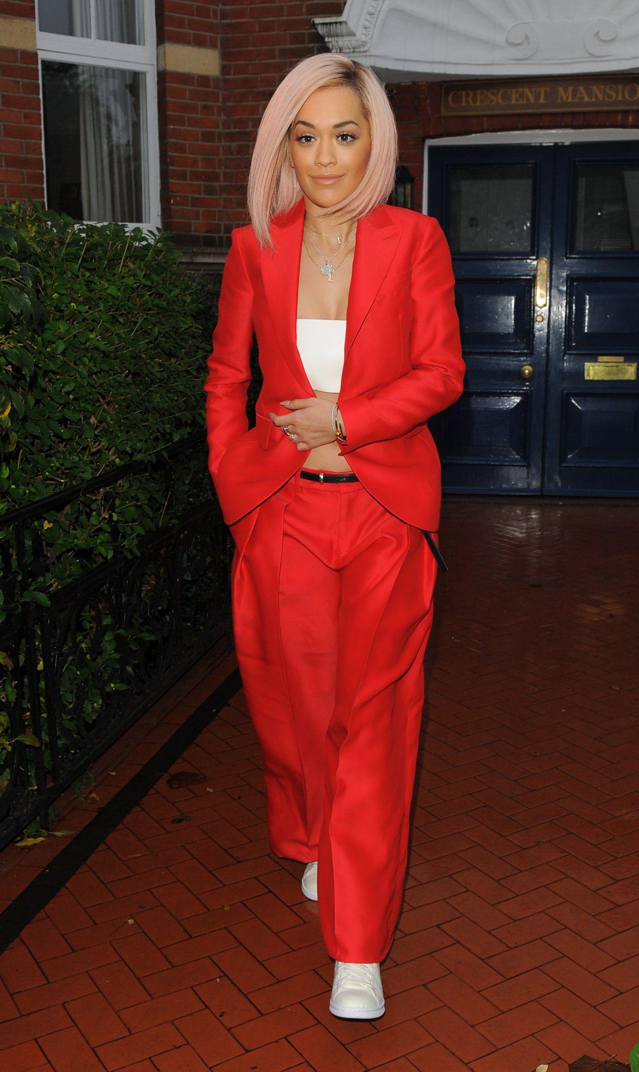 Rita Ora - Arrives for