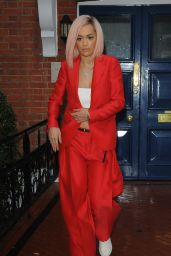 Rita Ora - Arrives for