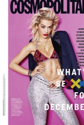 Rita Ora - Cosmopolitan Magazine (USA) December 2014 Issue