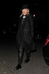 Rita Ora Night Out Style - Out in London, November 2014