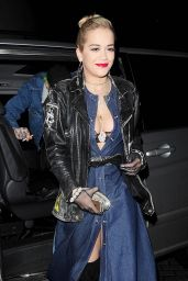 Rita Ora Style - Eyeko Collection Launch in London - November 2014
