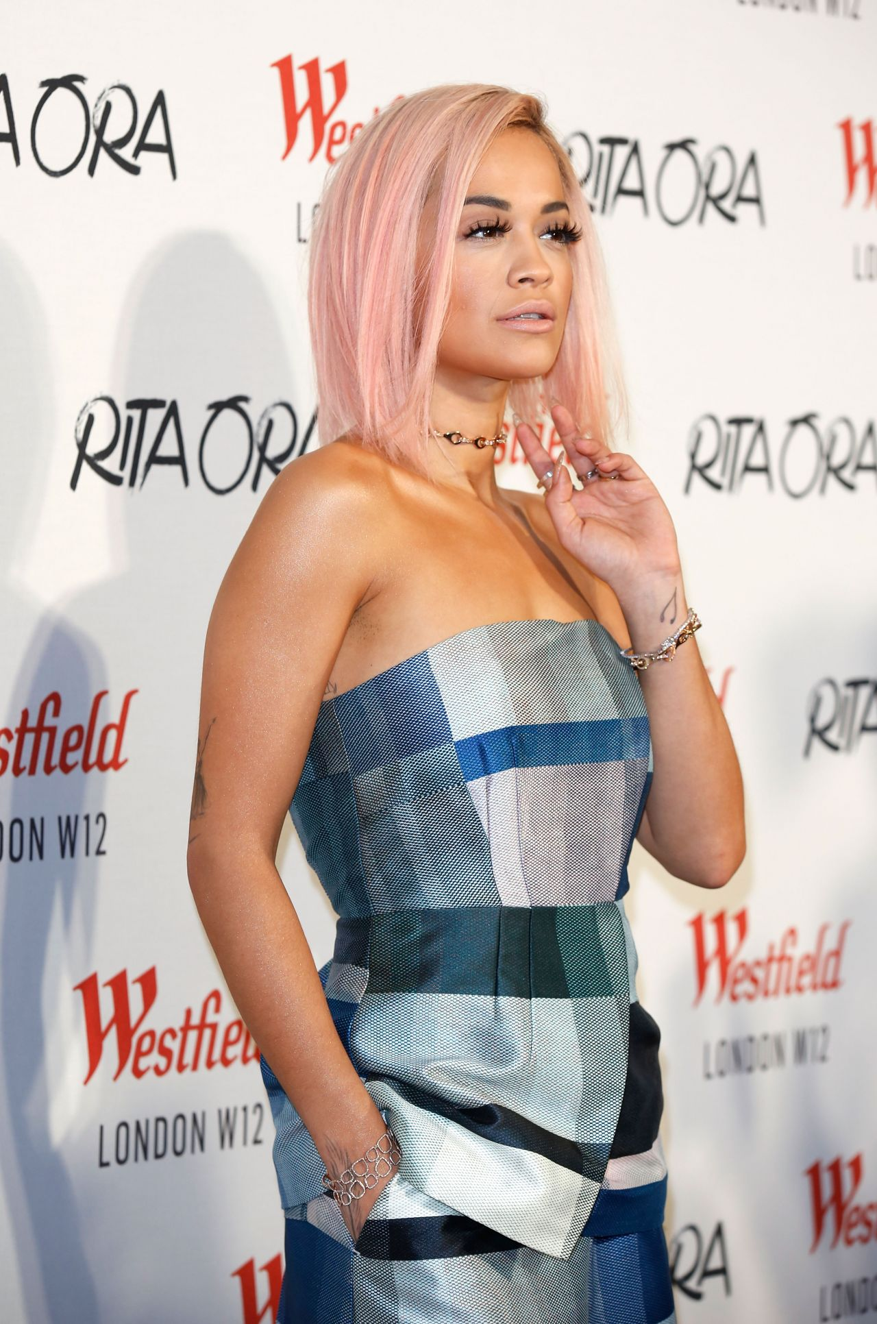 Rita Ora - Switches on Xmas Lights at Westfield, Shepherd
