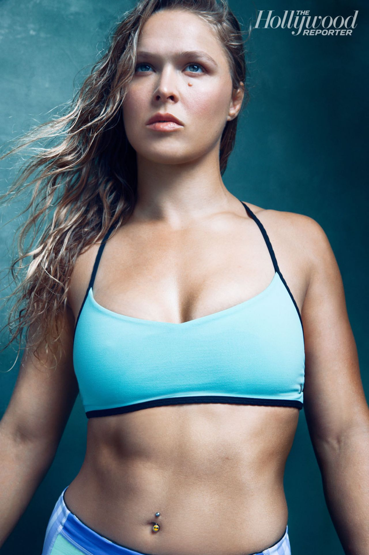 Ronda Rousey - The Hollywood Reporter Magazine Sports Issue 2014
