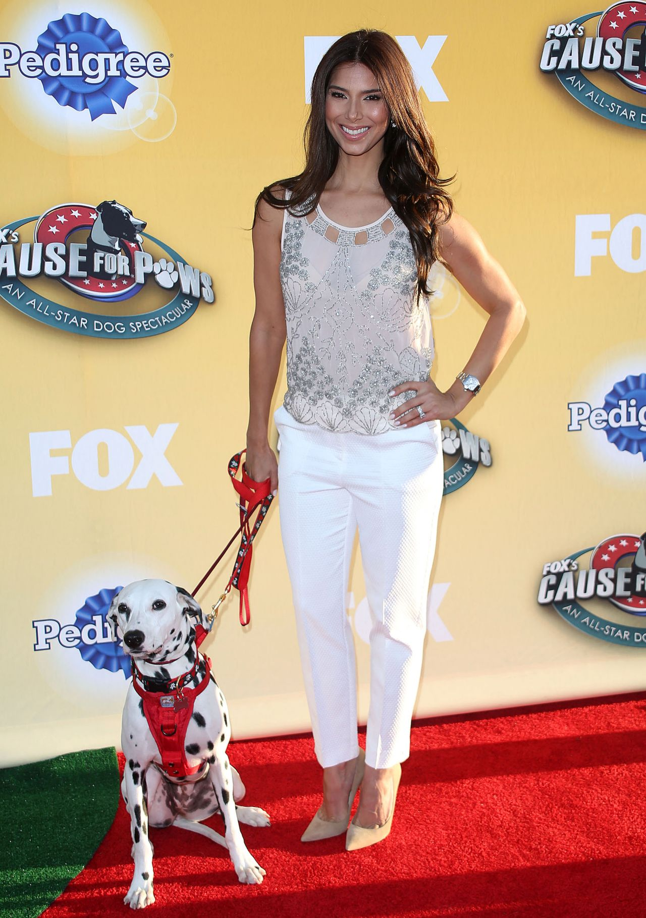 Roselyn Sanchez Fox S Cause For Paws At The Barker