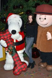 Ryan Newman – Knott's Merry Farm Holiday Tree Lighting in Buena Park – November 2014