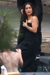 Salma Hayek - Photoshoot Set Photos - October 2014