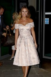 Sam Faiers Night Out Style - Leaving the Malmaison Hotel in Leeds