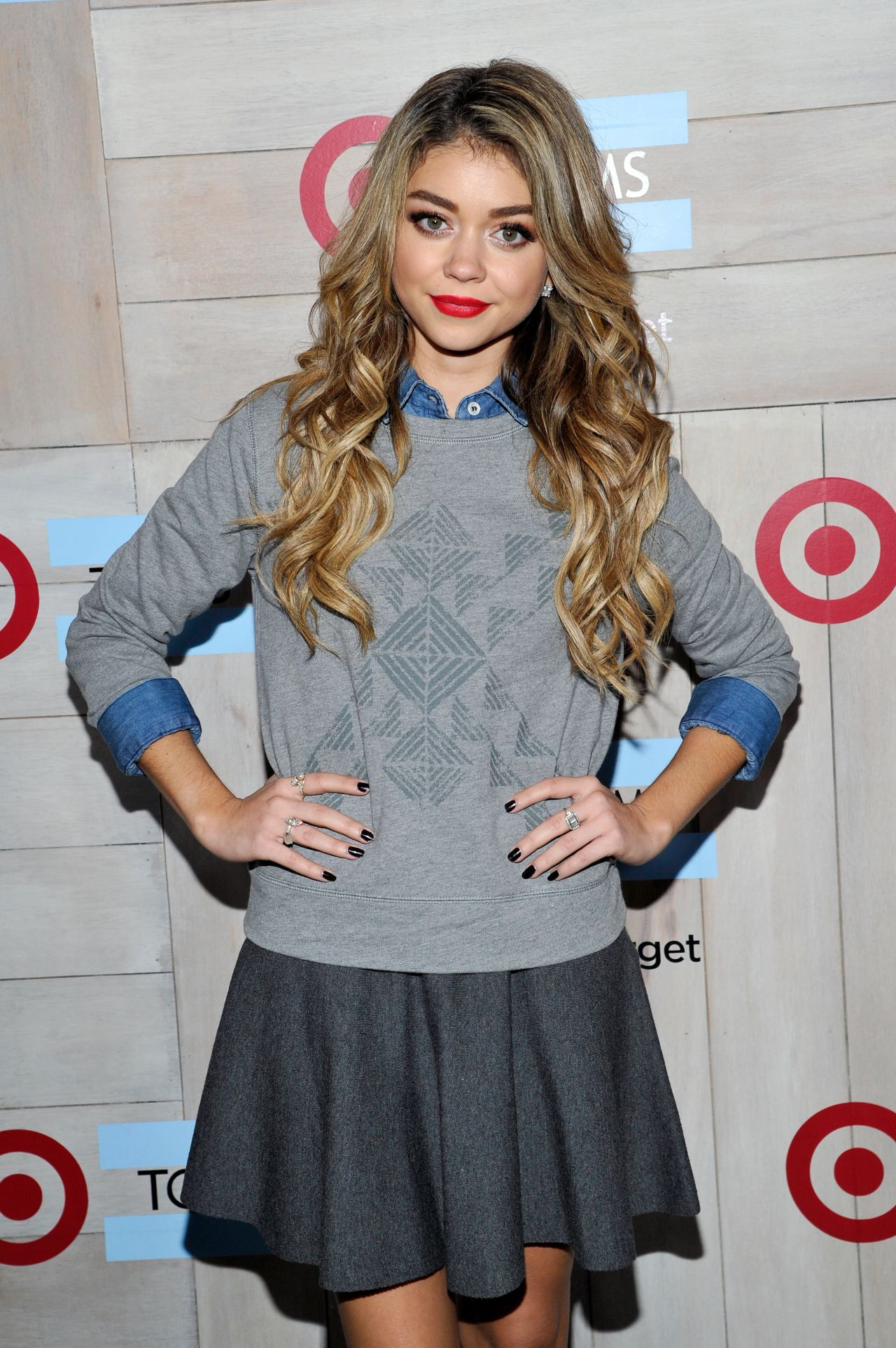 Sarah Hyland - TOMS For Target Launch Event in Culver City