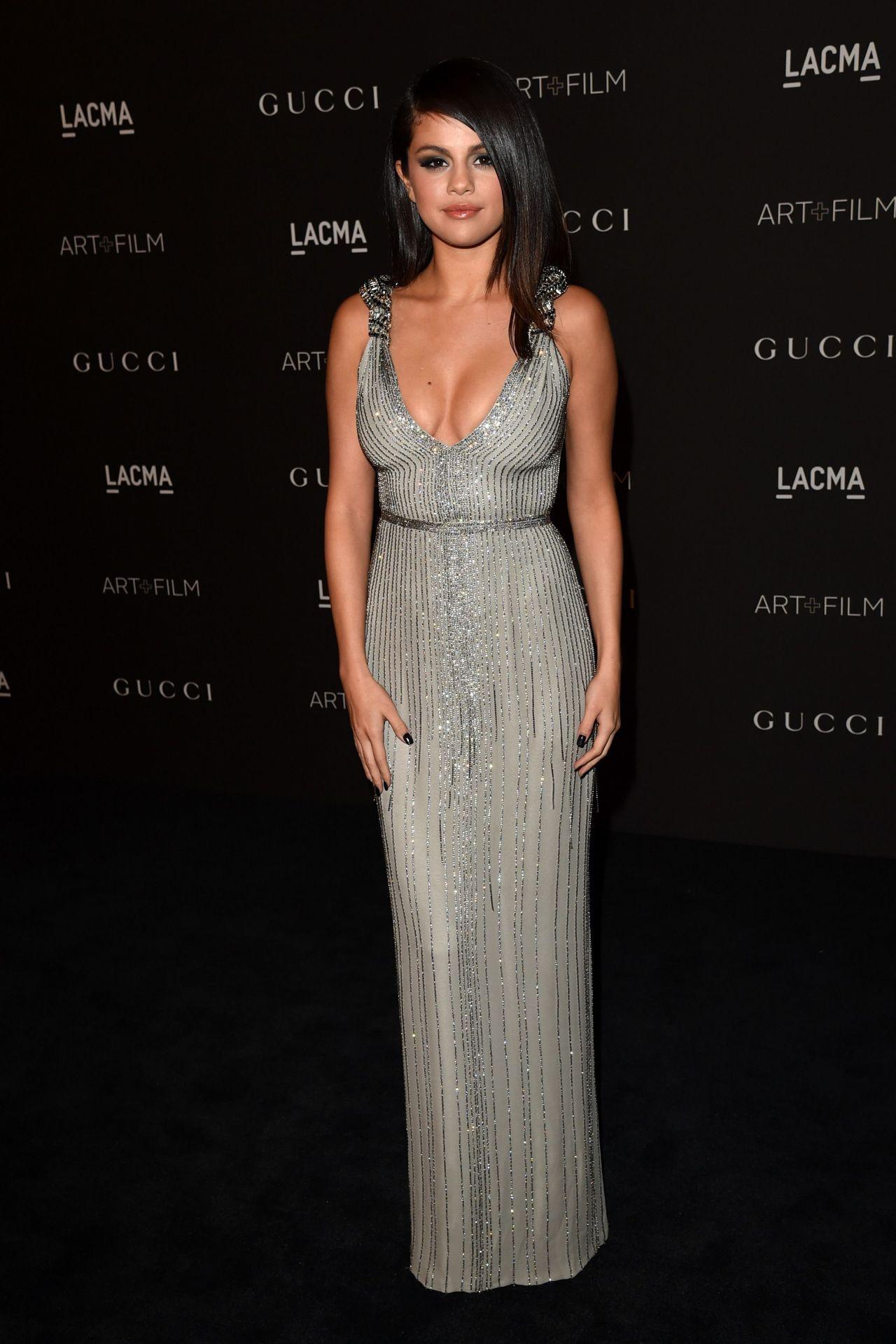 Selena Gomez  2014 Lacma Art  Film Gala In Los Angeles-7864