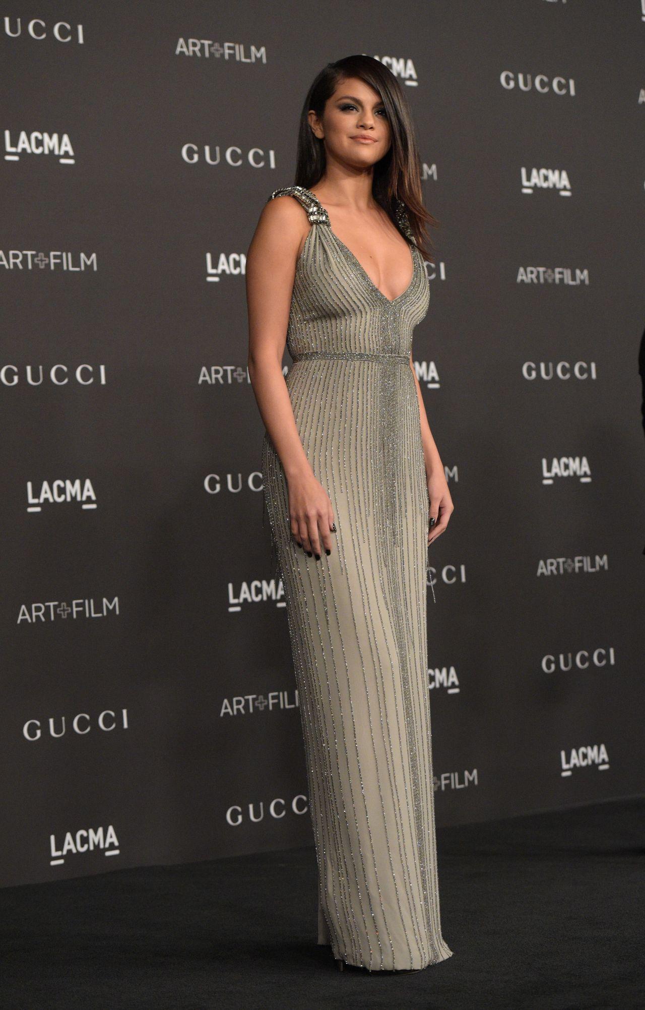 Selena Gomez  2014 Lacma Art  Film Gala In Los Angeles-6432