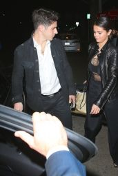 Selena Gomez Night Out Style - Leaving Il Cielo Restaurant in Beverly Hills - Nov. 2014