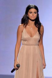 Selena Gomez Performs at 2014 American Music Awards in Los Angeles