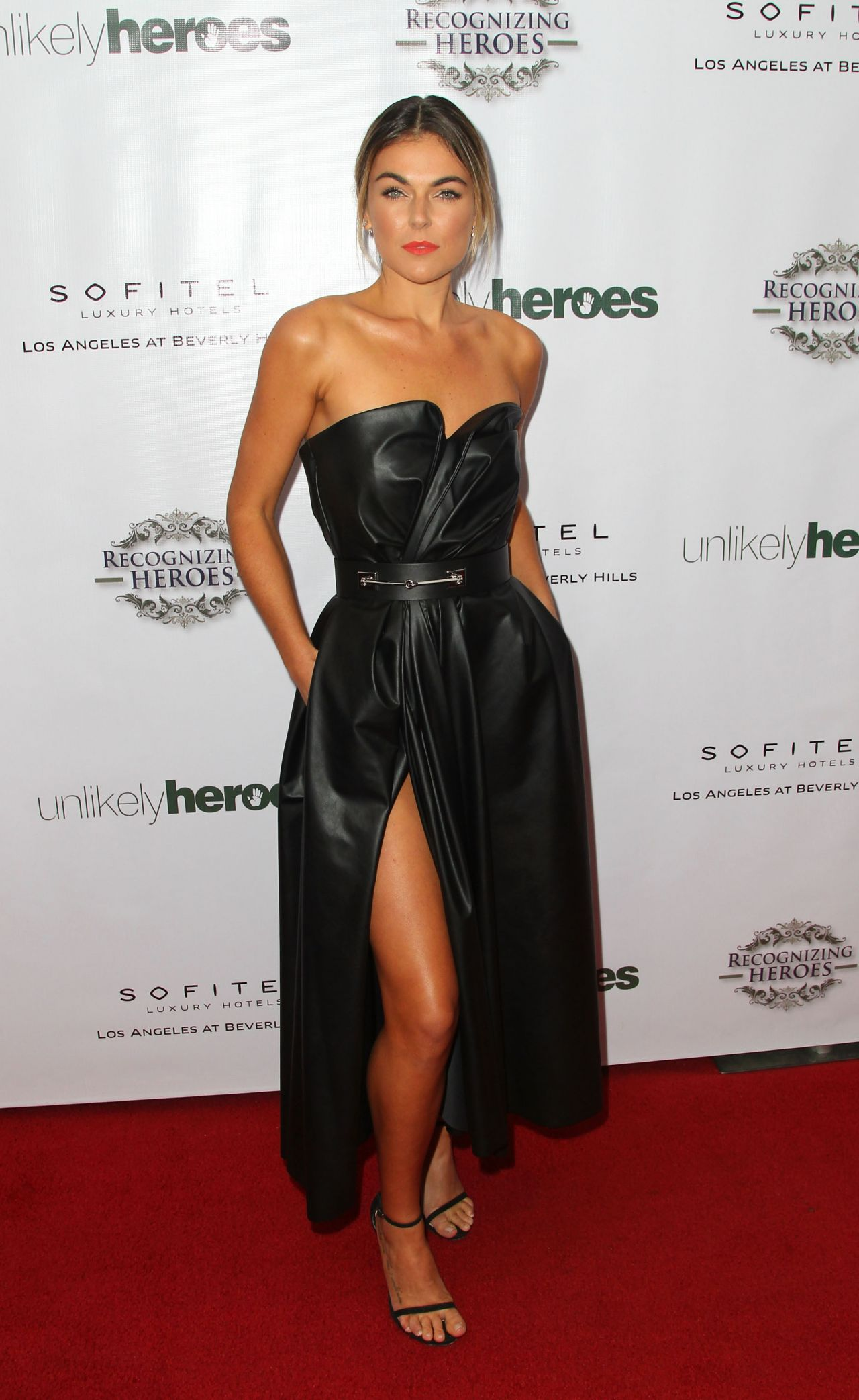 Serinda Swan – 2014 Unlikely Heroes Awards Dinner And Gala in Los Angeles