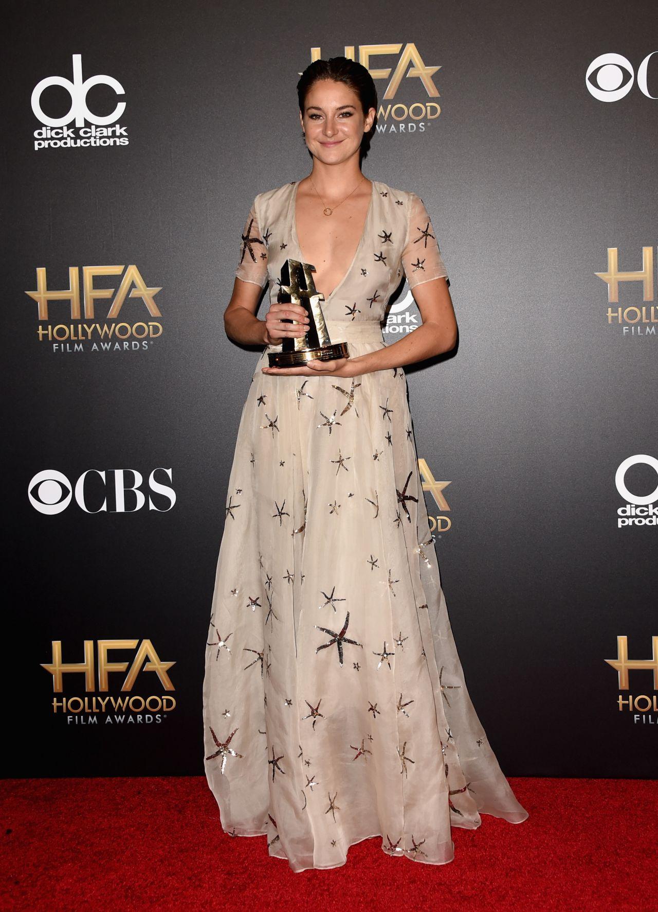 Shailene Woodley 2014 Hollywood Film Awards