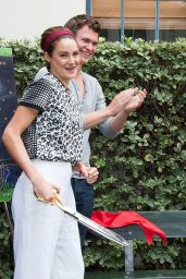 Shailene Woodley - at The Fault in Our Stars Reunion And Bench Dedication Ceremony In Century City