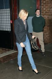 Sienna Miller Street Style - Out in Soho, New York City - November 2014