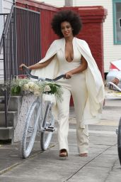 Solange Knowles Weds Alan Ferguson in Front of Friends and Family in New Orleans - November 2014