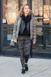 Sophia Bush Street Style - Leaving a Gym in Chicago - November 2014