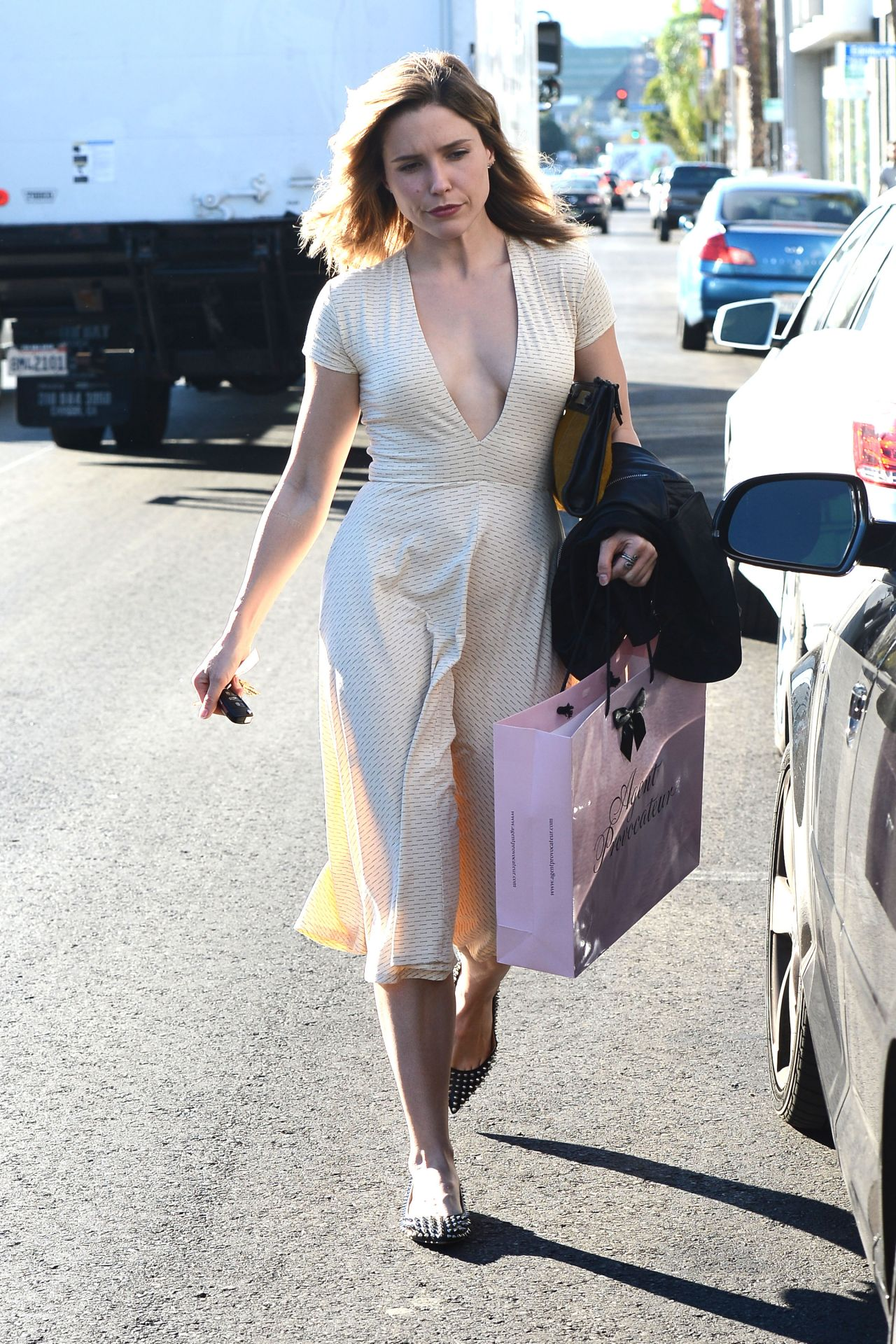Sophia Bush Style Out In Los Angeles November 2014