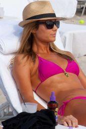 Stacy Keibler Bikini Candids - Miami 2014