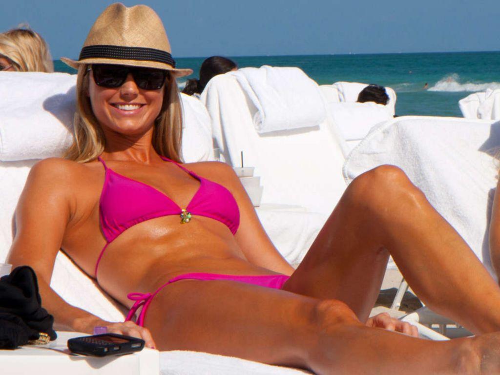 candids Stacy keibler bikini