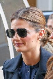 Stana Katic Style - Leaving The View in New York City - November 2014