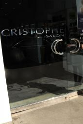 Tammin Sursok Hair Style - Seen at Cristophe Salon in Beverly Hills - November 2014