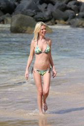 Tara Reid Shows Off Her Bikini Body - at a Beach in Hawaii - November 2014