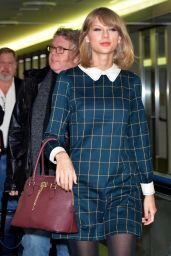 Taylor Swift - Aarriving at Narita International Airport in Tokyo - November 2014