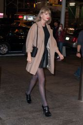 Taylor Swift Night Out Style - New York City, November 2014