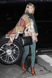 Taylor Swift Style - Leaving & Returning to Her Apartment in New York City - November 2014
