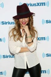 Thalia - Sirius XM in Newy York City - November 2014