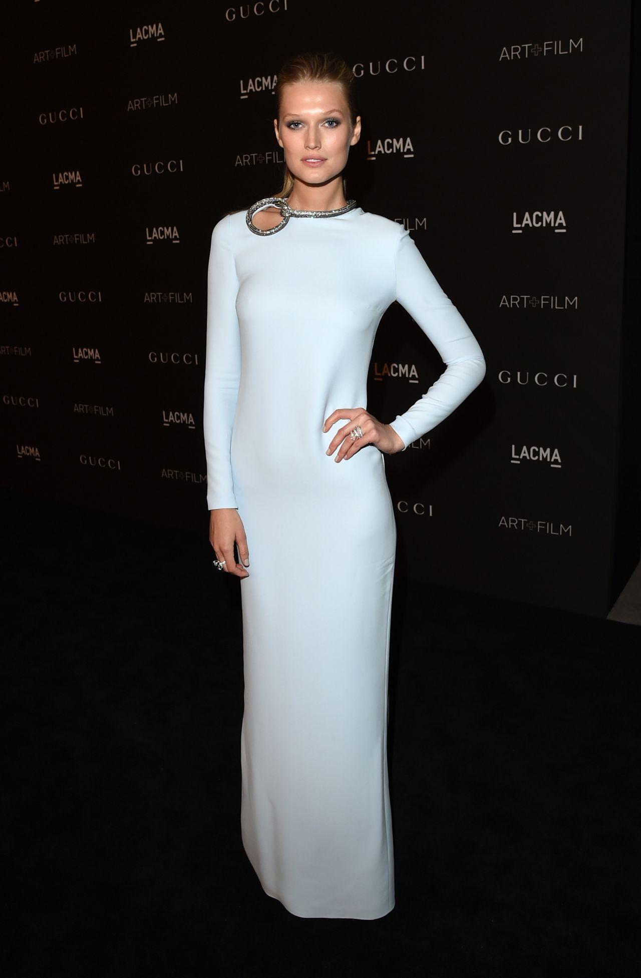 Toni Garrn – 2014 LACMA Art + Film Gala in Los Angeles