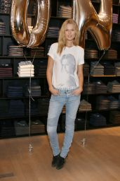 Toni Garrn - Presents Streetwear Collection of Closed at the Flagshipstore in Germany