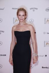 Uma Thurman on Red Carpet - Bambi Awards 2014 in Berlin
