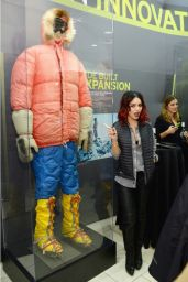 Vanessa Hudgens at Eddie Bauer Store Opening in New York City - Nov. 2014