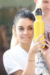 Vanessa Hudgens in Leggings - Leaving the Gym in Los Angeles, November 2014