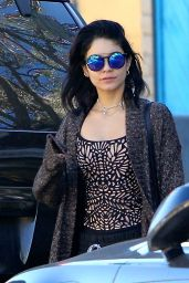Vanessa Hudgens Street Style - Out in LA, November 2014