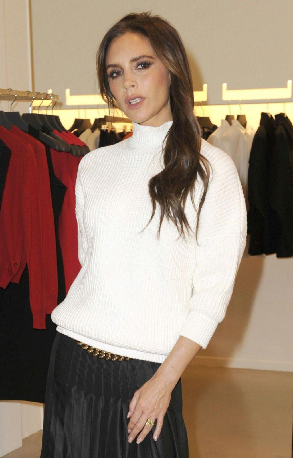 Victoria Beckham Style - VB x Selfridges Collection Launch in Manchester – November 2014
