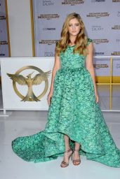 Willow Shields – 'The Hunger Games: Mockingjay Part 1′ Premiere in Los Angeles