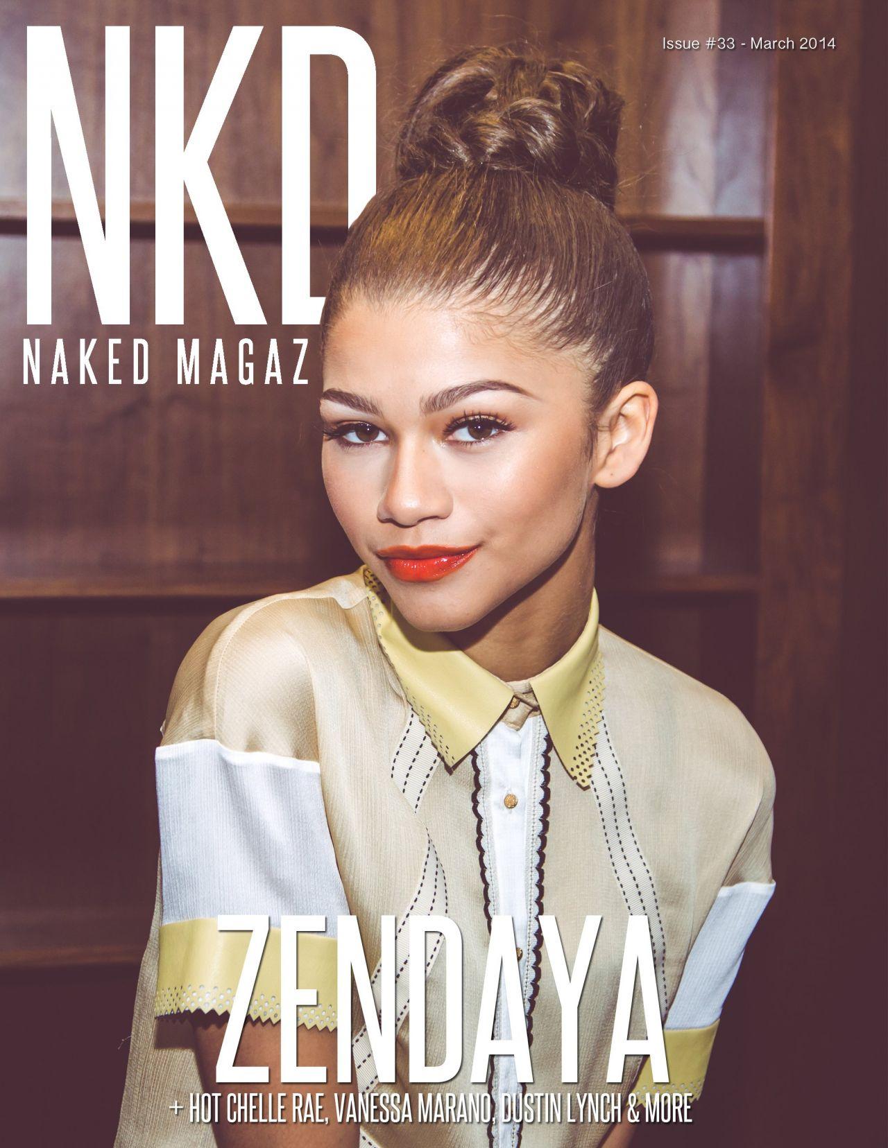 Zendaya Coleman - NKD Magazine March 2014 Issue