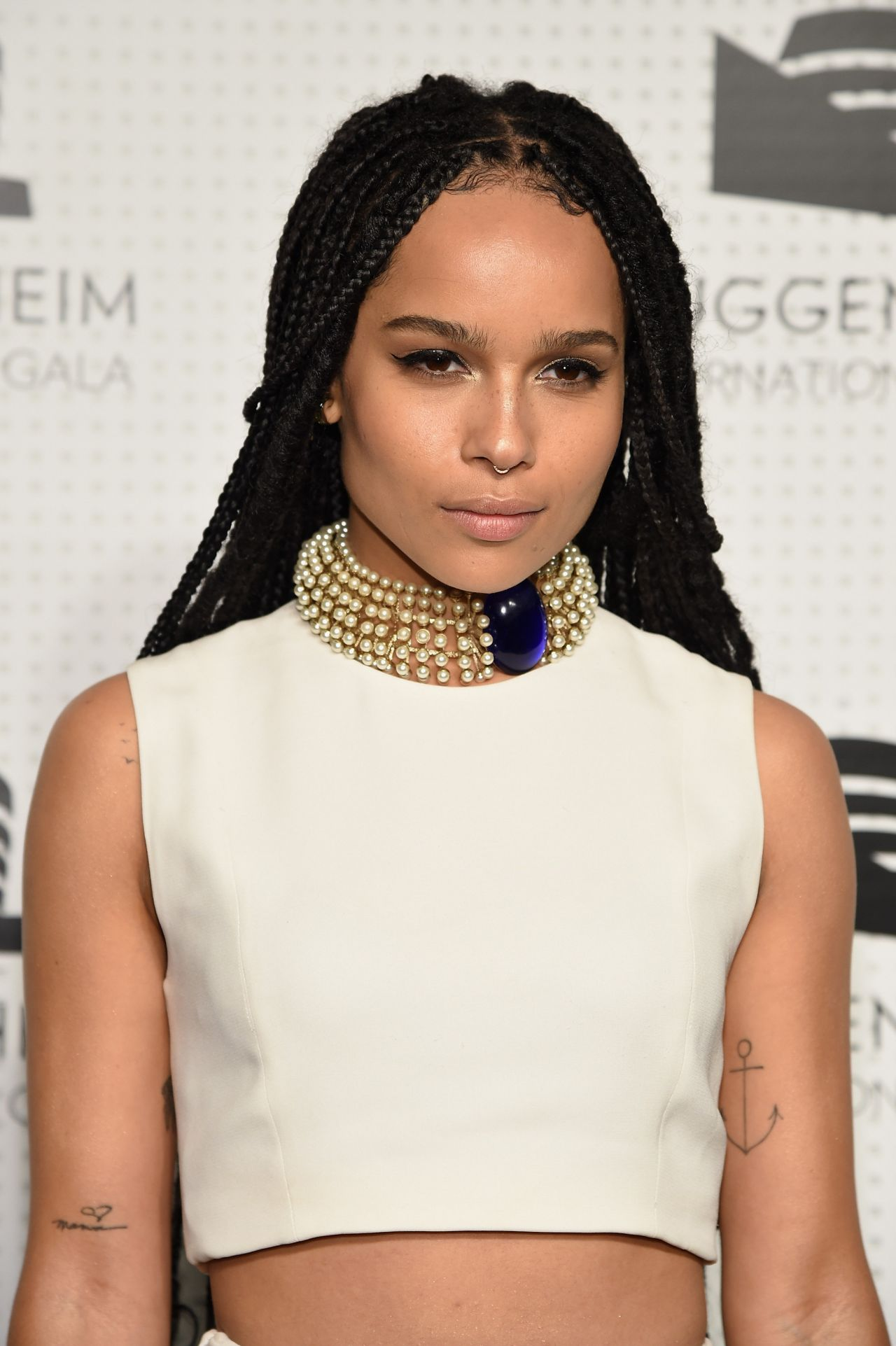 Zoe Kravitz Guggenheim International Gala Dinner In New